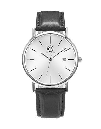 AIBI Wasserdicht Herren Armbanduhr XS Weiss Schwarz AB45701 1