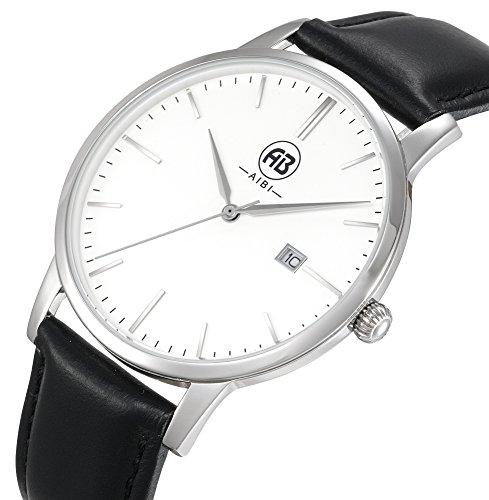 AIBI Wasserdicht Herren Classic Quarzuhr Armbanduhr AB51101 1