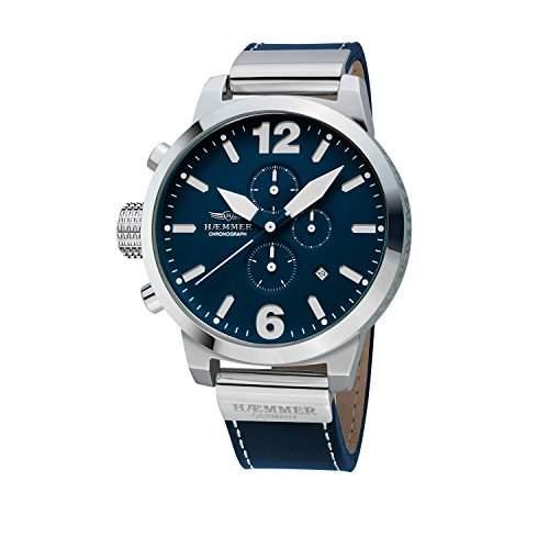 Haemmer Herren Uhr Armbanduhr Chronograph Herrenuhr Marino HC-38 Nr 05961