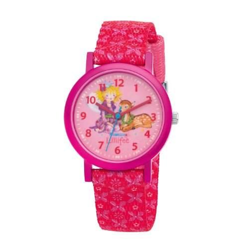Prinzessin Lillifee Maedchen-Armbanduhr Analog Quarz Textil 454315