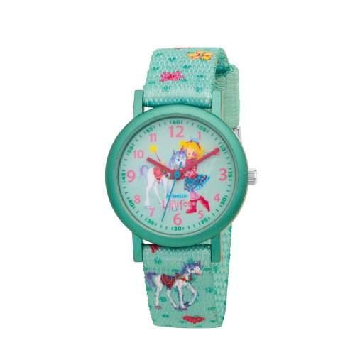 Prinzessin Lillifee Maedchen-Armbanduhr Analog Quarz Textil 454322