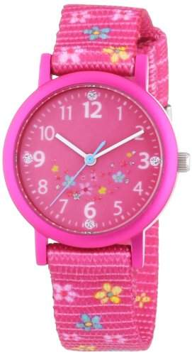 Prinzessin Lillifee Maedchen-Armbanduhr Analog Quarz Textil 454360