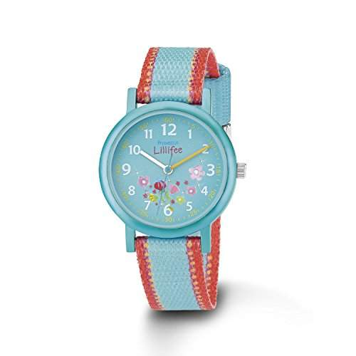Prinzessin Lillifee Maedchen-Armbanduhr Analog Quarz Textil PLFU9