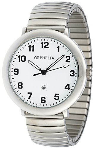 Orphelia Time keeper Analog Quarz Edelstahl