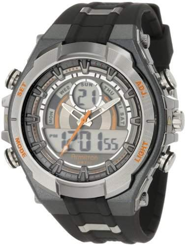 Armitron Herren 204589ORGY Analog-Digital Multi-Function Grau und Schwarz Sport Watch