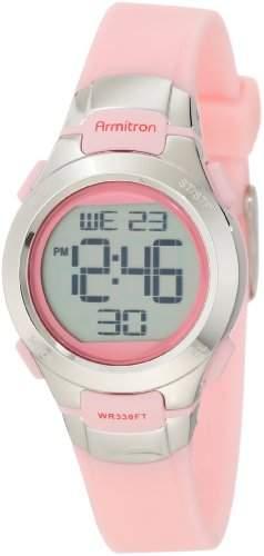 Armitron Sport Damen 457012PNK Chronograph Pink Digital Armbanduhr