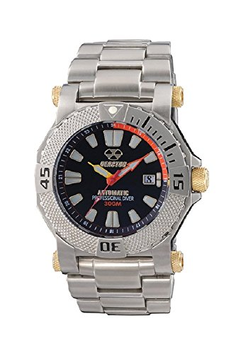 REACTOR Herren 93901 Neutron Automatische Bewegung Armbanduhr Schwarz Zifferblatt 93901