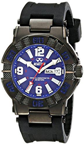 REACTOR Herren 44003 MX BLAU Zifferblatt Armbanduhr Amazon Exklusiv