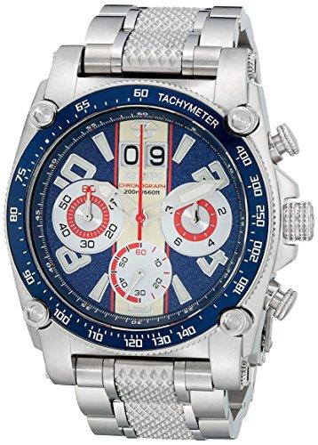 REACTOR Herren 41003 Hammer Analog Display Japanisches Quartz Silber Uhr