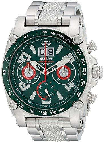REACTOR Herren 41009 Analog Display Japanisches Quartz Silber Uhr