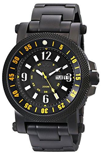 REACTOR Herren 56507 Analog Display Japanisches Quartz Black Watch