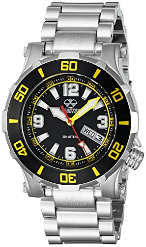REACTOR Unisex 45509 Atlas Analog Display Quartz Black Watch