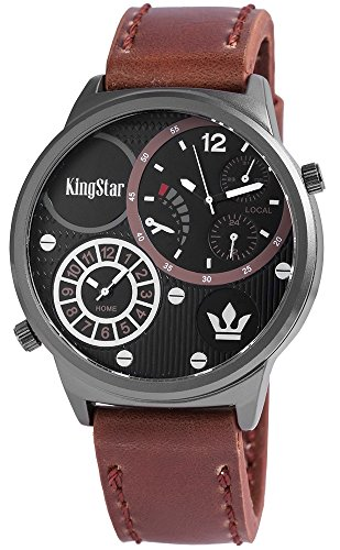 KingStar mit Lederimitationsarmband