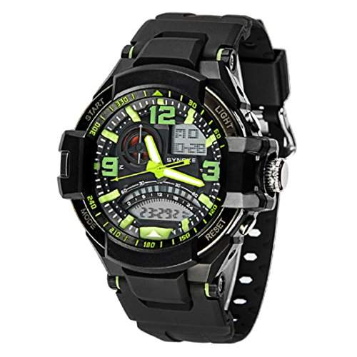 HandLifeTMNew Multi Function Military Wasserdicht Digital LED Quartz Sport-Armbanduhr Green