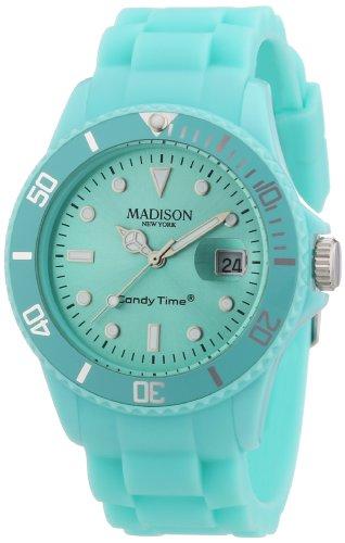 Madison New York Unisex Armbanduhr Candy Time Silicon Analog Silikon U4167 26 2