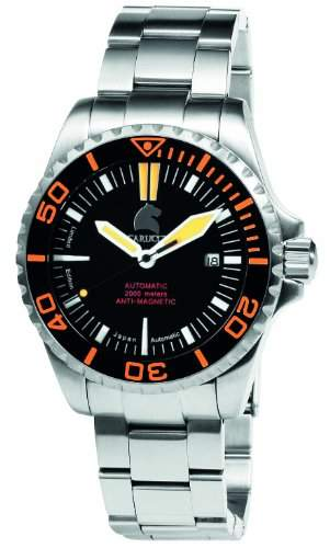 Carucci Watches Herren-Armbanduhr XL Analog Automatik Edelstahl CA4401OR
