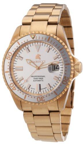 Carucci Watches Herren Armbanduhr XL Calabria Analog Automatik Edelstahl CA2185RG