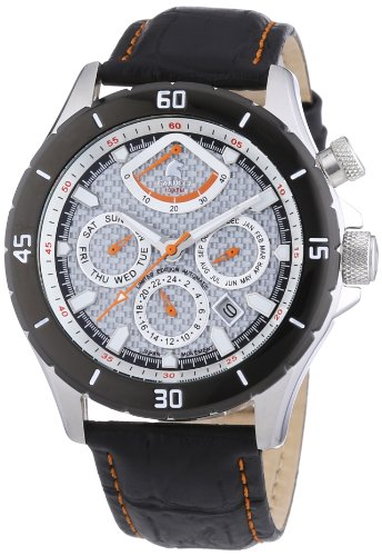 Carucci Watches XL Gallarate Analog Automatik Leder CA2186SL