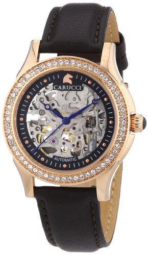 Carucci Watches Analog Automatik Leder CA2212RG