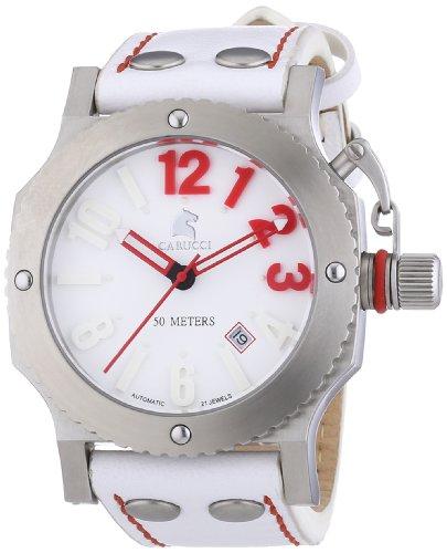Carucci Watches XL Analog Automatik Leder CA2210SL RD