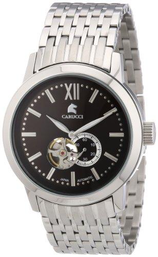 Carucci Watches XL Analog Automatik Edelstahl CA2193BR