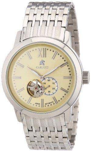 Carucci Watches XL Analog Automatik Edelstahl CA2193CR