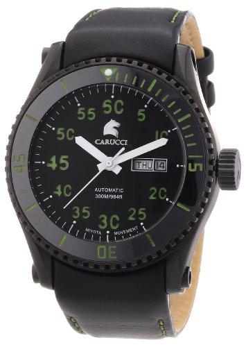 Carucci Watches XL Analog Automatik Edelstahl CA2196BK GR