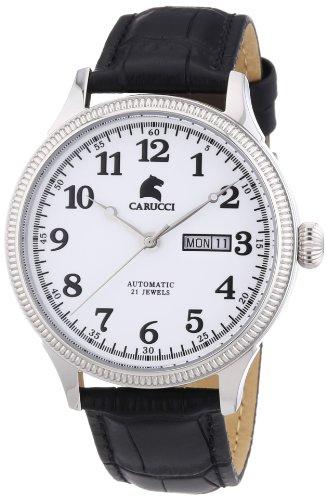 Carucci Watches XL Analog Automatik Edelstahl CA2209SL