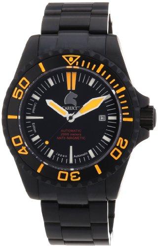 Carucci Watches XL Analog Automatik Edelstahl CA4401BK OR