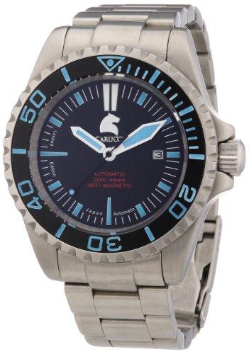 Carucci Watches XL Analog Automatik Edelstahl CA4401BL
