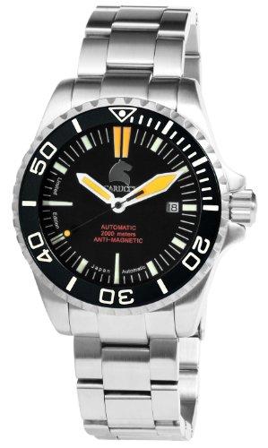 Carucci Watches XL Analog Automatik Edelstahl CA4401GR