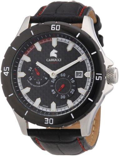 Carucci Watches XL Analog Automatik Leder CA2187RD