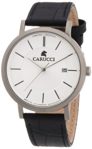 Carucci Watches XL Analog Automatik Leder CA2192SL