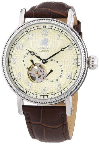 Carucci Watches XL Analog Automatik Leder CA2201CR