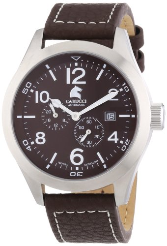 Carucci Watches XL Analog Automatik Leder CA2202BR