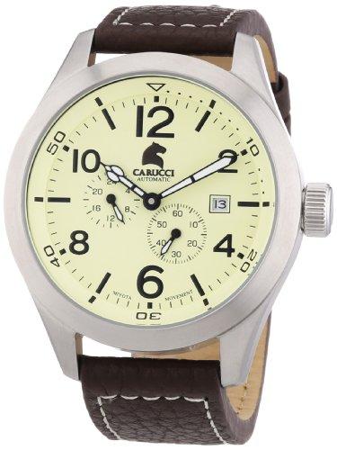 Carucci Watches XL Analog Automatik Leder CA2202CR
