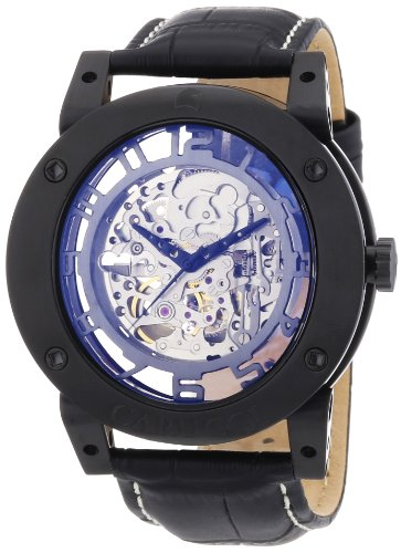 Carucci Watches XL Analog Automatik Leder CA2207BK