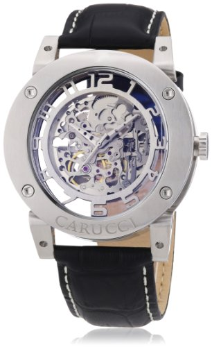 Carucci Watches XL Analog Automatik Leder CA2207SL