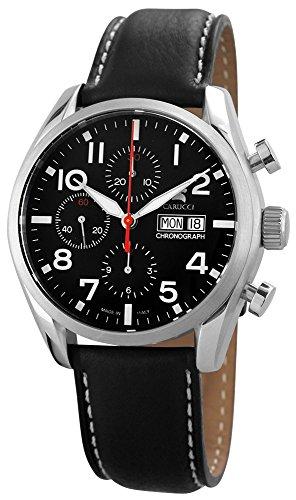 Carucci Watches XL Analog Automatik Leder CA6607BK
