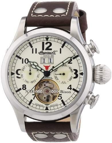 Ingersoll Herren-Armbanduhr BisonN018 Analog Automatik IN4506CH