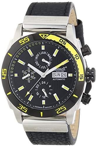 Ingersoll Herren-Armbanduhr XL Chronograph Automatik Leder IN1305BKYL