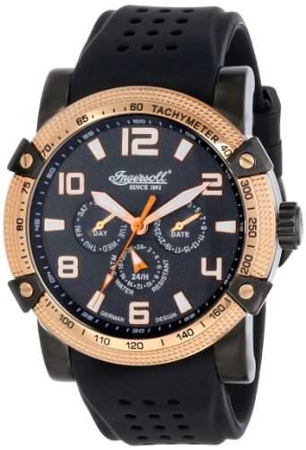 Ingersoll Herren Armbanduhr Benton Limited Edition Schwarz IN1621BK