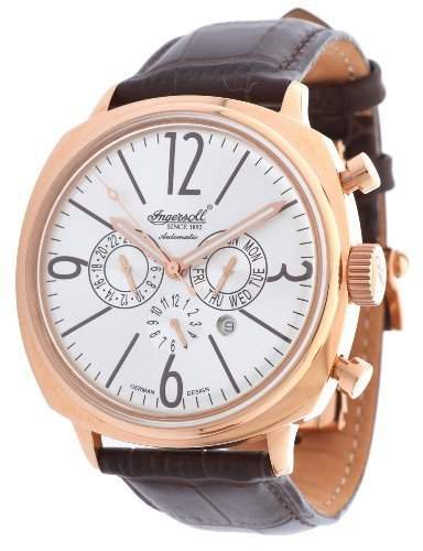 Ingersoll Cooper Automatik Herren Uhr Rosé IN2818RSL
