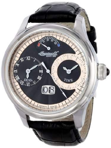 Ingersoll Herren-Armbanduhr Analog Edelstahl schwarz IN3604BK