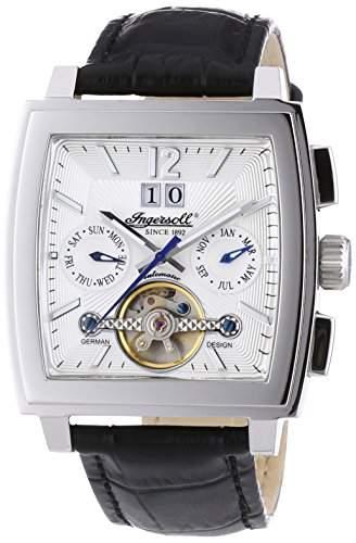 Ingersoll Herren-Armbanduhr Dakota II Chronograph Automatik Leder IN4110SL