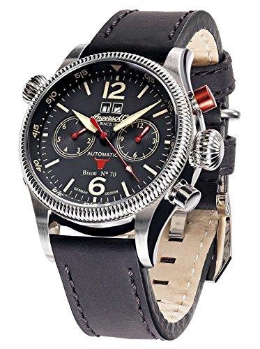 Ingersoll Armbanduhr Bison N0 70 IN3225BK