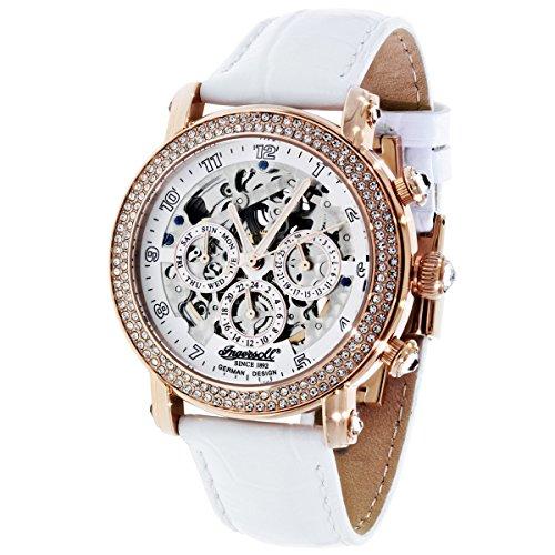Ingersoll Automatik Damen Armbanduhr Dream IN7202RWH
