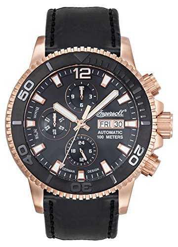 Ingersoll Herren Armbanduhr IN1105RBK