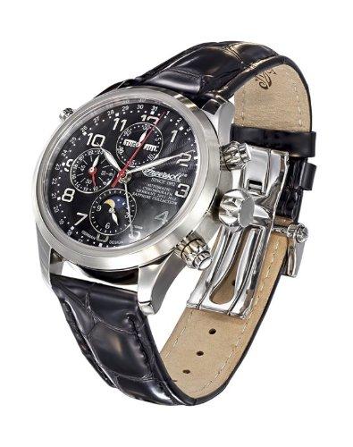 Ingersoll Fine Chronograph Herren Armbandnuhr Cooke IN6110BK