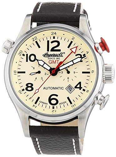 Ingersoll XL Lawrence Chronograph Automatik Leder IN3218CR